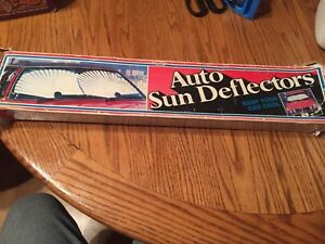Vintage Auto Sun Deflector Keep You Car Cool In Box Free Shipping