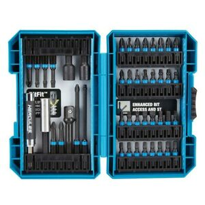 45 Pc Hercules Impact Driver Bit Set Magnetic Guide Drill Torque Slottled Square