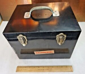 Dumore Lathe Tool Post Grinder Steel Storage Case Box Only