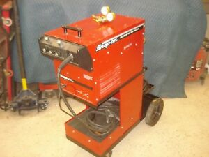 Snap on Wire Feed Mig Spot Welder Ya219b With Cart And Extras Gently Home Used