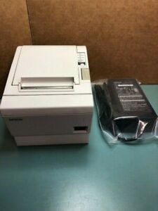 Epson Tm t88iip Point Of Sale Receipt Printer With Power Supply Model M129b