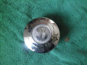 Nice Vintage Antique Buick Screw On Grease Dust Hubcap 1920 S 1930 S Chrome