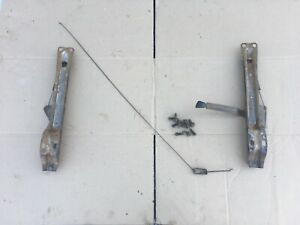 67 72 73 79 Ford Truck Bench Seat Tracks Mounts 1973 1979 F 150 F 250 68 1972