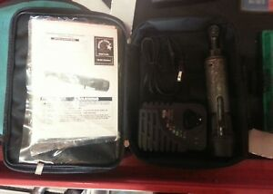 Matco Tools Infinium 1 4 Cordless Ratchet Set W Case Charger Battery