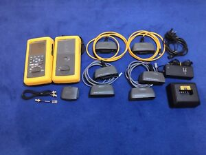 Fluke Networks Dsp 4000 Cable Tester Cat5e Cat6 Dsp4000