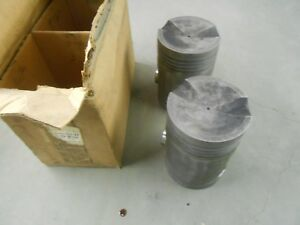 Used Mcquay Norris 045 John Deere Late A 60 Aluminum Pistons Tractor Part