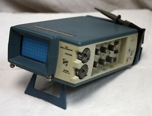 Vintage Tektronix 221 Miniscope Oscilloscope With Probe
