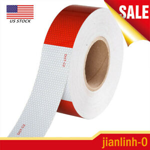 Conspicuity Tape Dot c2 Reflective Trailer Safety Strip Sticker 2 x150 1 Roll