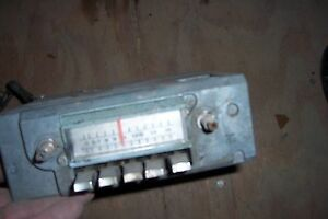 Vintage 1964 1966 Ford Thunderbird Am Radio Fomoco