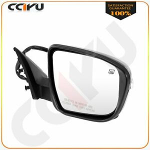For 14 2018 Nissan Rogue Right Side Mirror Black Power Heated Signal With Camera