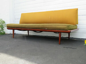 Danish Minerva Daybed Sofa Couch By Peter Hvidt And Orla Morlgaard Nielsen 9533