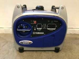 Yamaha Ef2400is Generator used Once mint Condition includes Factory Cover
