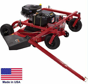Trail Mower Trailmower Commercial 60 Finish Cut 18 5 Hp Electric Start
