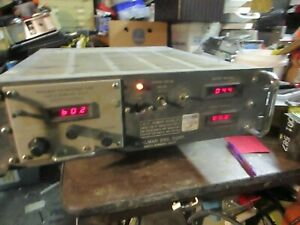 Behlman 75 c Sbmd Variable Ac Power Source Frequency Converter 750va