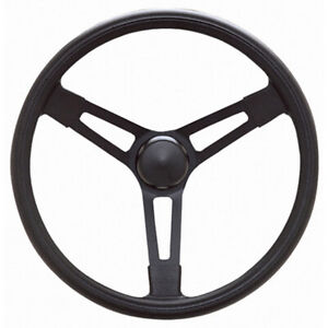 Grant Black Paint Steel 16 In Diameter Performance Series Steering Wheel P n 677