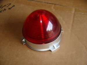 1953 Chevy Center Tail Light Lens In Tote