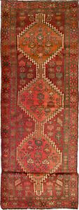 Hand Knotted Persian Carpet 3 9 X 13 9 Persian Vintage Wool Rug Discounted
