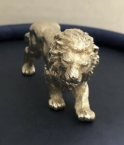 Asprey Sterling Silver Lion 1987 1997 Mark
