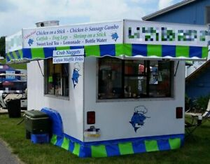 18 Used Street Food Trailer With 2013 Build Kitchen For Sale In Pennsylvania