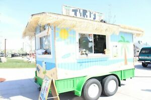 Used 8 X 12 Shaved Ice Concession Trailer For Sale In Idaho