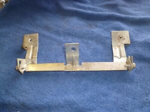 1967 1968 Mustang Cougar Floor Console Radio Bracket With Hardware 67 68 Oem