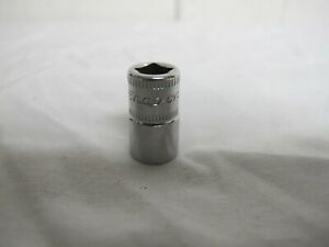 Snap On 1 4 Drive 9mm Shallow 6 Point Metric Socket Tmm9