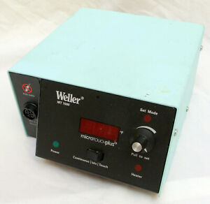 Weller Mt1500 Digital Soldering Station Power Unit Microtouch Plus