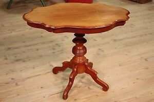 Table Living Room Small Wooden Paint Mahogany Furniture Antique Style 900 Xx