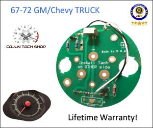 Tachometer Circuit Board New 1967 72 Gm chevy Trucks C10 blazer cheyenne