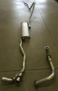 1949 1953 Oldsmobile V 8 Single Exhaust System 304 Stainless
