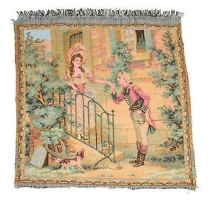 Antique French Tapestry Made In France