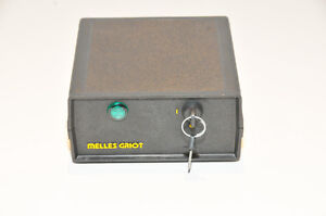 Melles Griot 25 lhp 213 249 Laser Power Supply With Keys Interlock Dongle