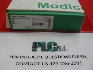 140cps41400 Brand New Modicon Pwr Sply 140 cps 414 00