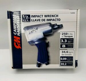 1 2 In Air Impact Wrench Campbell Hausfeld Brand New 250 Ft Lbs Of Torque