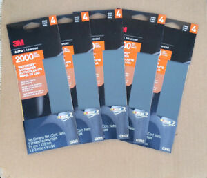3m Auto Advanced Stage 4 2000 Grit Wetordry Sandpaper 03003 25 Sheets