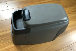 Ford F250 F350 99 07 Super Duty Floor Mounted Console Arm Rest Grey Oem Read Ad