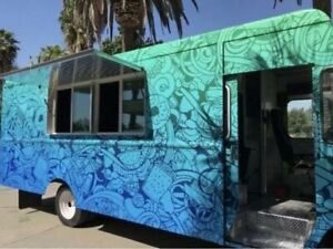 Used Food Truck Mobile Kitchen For Sale In California
