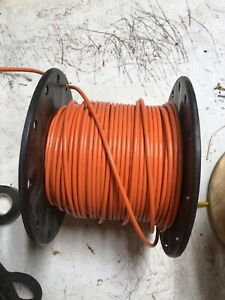 200 Foot Orange 8 Thhn Electrical Wire