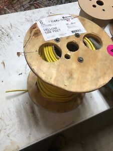 250 Ft Yellow 6 Thhn Electrical Wire