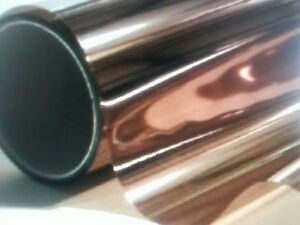 Bronze Reflective 30 x 5 Proline Window Film Color Solar Mirror Tint Polaizado