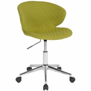 Flash Furniture Cambridge Mid Back Swivel Office Chair In Citrus Green