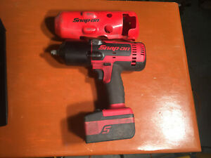 Snap On Ct8850 18v 1 2 Drive Cordless Impact Wrench With Battery No Charger