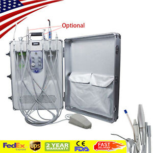 Dental Delivery Unit System Syringe Led Curing Light Ultrasonic Scaler 130l min