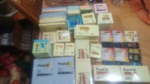 Brand New Huge Lot Of Post It Notes 132 Pads Plus 7 680 25s