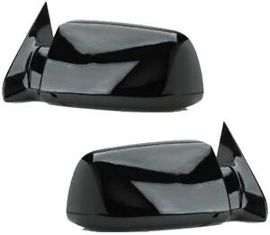 Mirrors For Chevy Gmc Truck 1988 1998 Pair Black Manual Blazer Jimmy 92 94