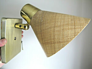 Eames Era Wall Sconce Light Lamp Parts Mid Century Modern