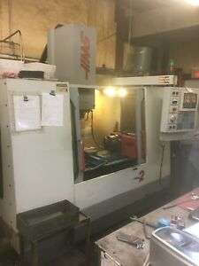 Haas Vf 2 Vertical Machining Center 1995 Video Available