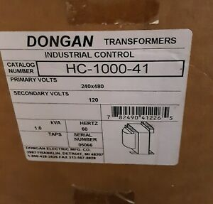 New Dongan Control Transformer Hc 1000 41 1 0 Kva Single Phase