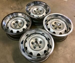 Mopar Rally Wheels Small Bolt Pattern 5 On 4 A Body Dart Duster Valiant J15663