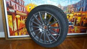 Nw 2008 Audi A4 Titanium Package 18 Wheel Rim Pirelli P6 All Season Ronal
